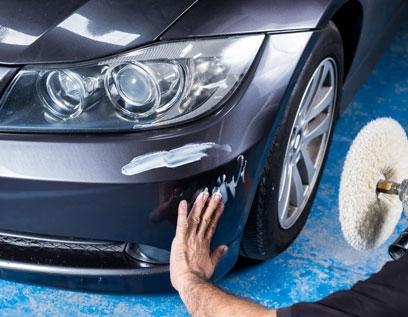 Detailing a 3-series BMW